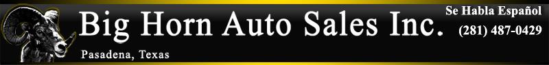 Big Horn Auto Sales Inc.